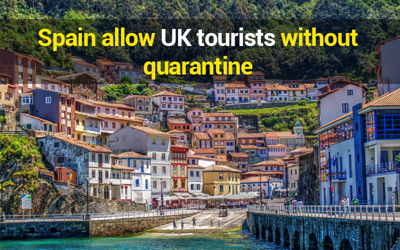 spain travel without quarantine