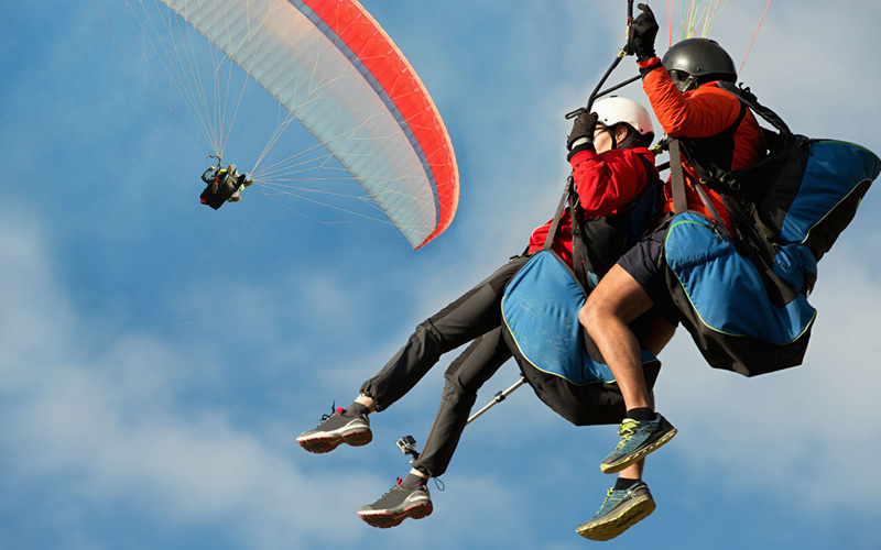 Paragliding-in-Madrid